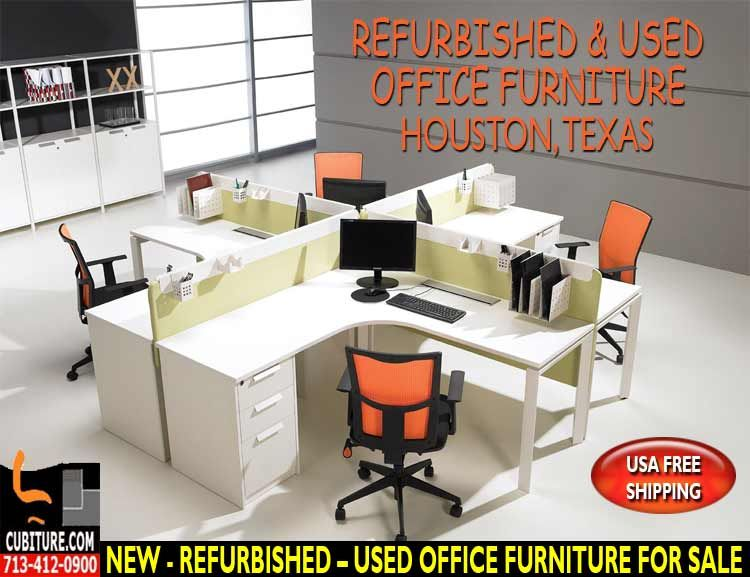 Used Office Furniture By Cubiture The Leading Houston Manufacturer Of Cubicles Workstations