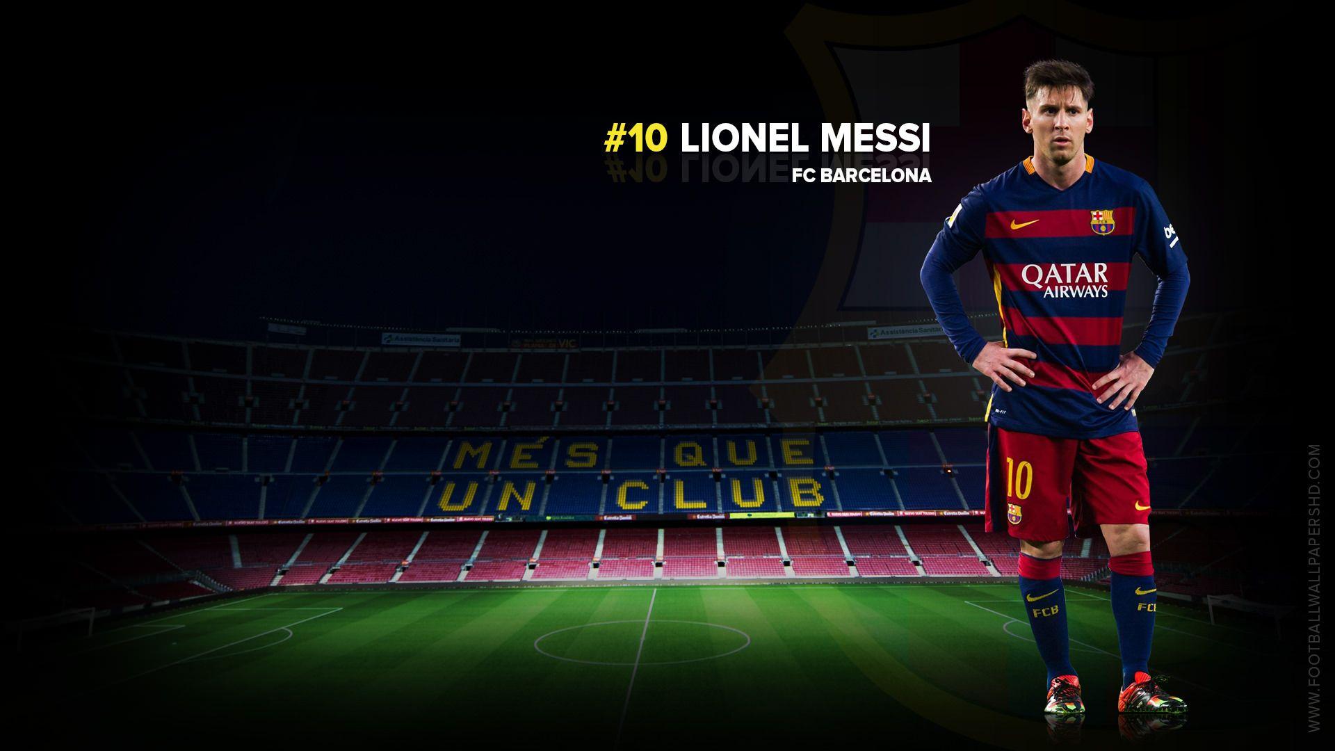 Lionel Messi Fc Barcelona 20152016 Wallpaper Lionel Messi