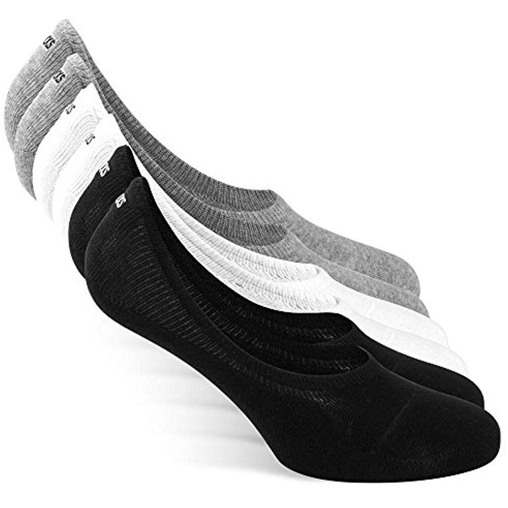 Snocks Herren Damen Unsichtbare Sneaker Socken 6x Paar Extra