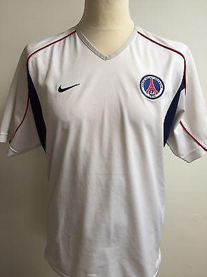 Vintage PSG Paris Saint Germain Football Shirt NIKE Size MEDIUM
