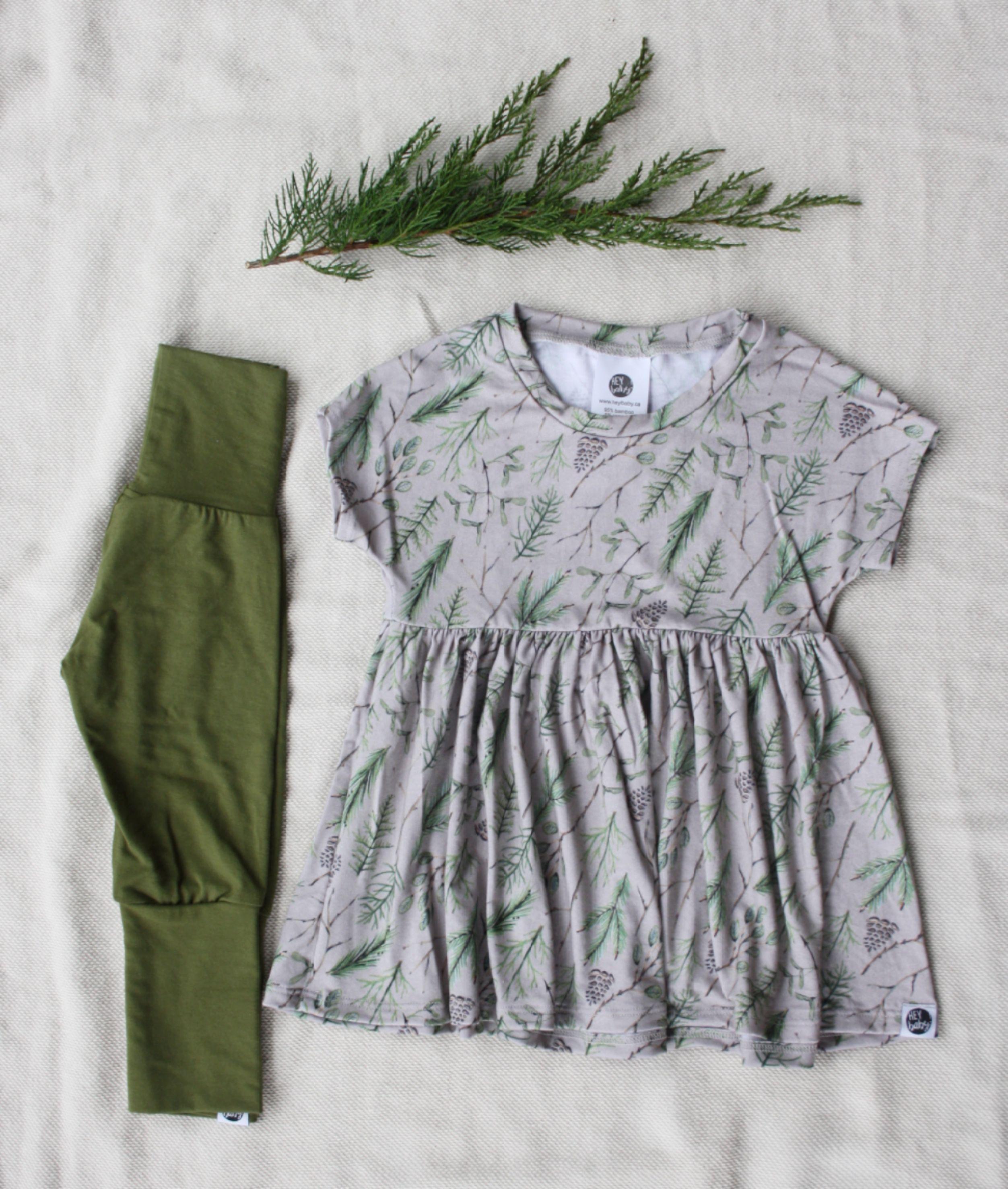 Baby dress Toddler dress grow with me west coast kids west coast