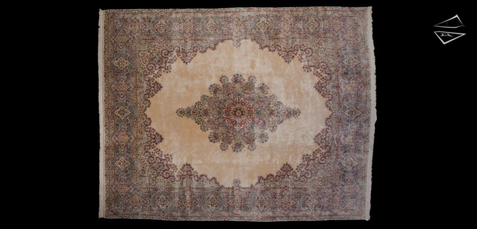 12 15 Persian Cyrus Crown Kerman Rug Kerman Rugs Persian Kerman Rugs Rugs