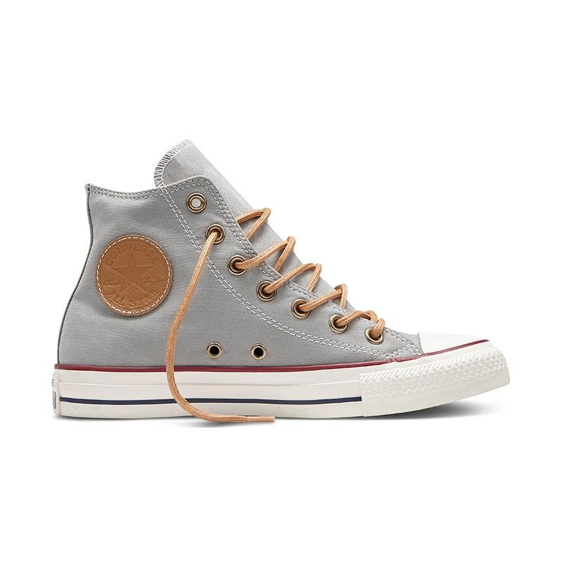 Converse Chuck Taylor All Star Hi Peached Canvas in Dolphin  dfd7cd09dba