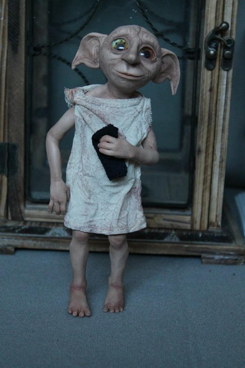 Dobby The House Elf Dobby Doll In 2020 Elf House House Elf Dobby Dobby