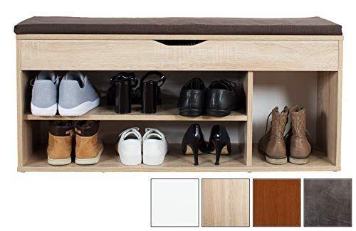 Ricoo Schuhregal Mit Sitzflache Und Stauraum Wm034 Schuhschrank