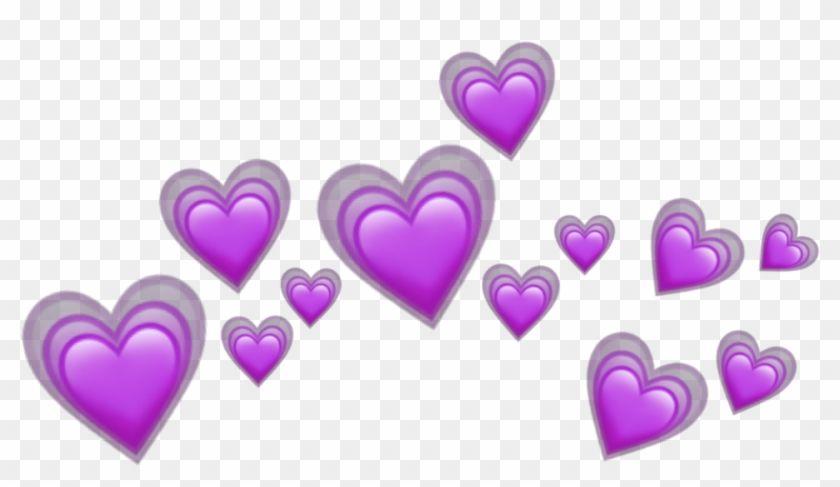 Find Hd Heart Hearts Tumblr Emoji Sticker Emojis Crown Purple Heart Crown Iphone Emoji Png Transparent Png To Search In 2021 Pink Heart Emoji Emoji Stickers Emoji