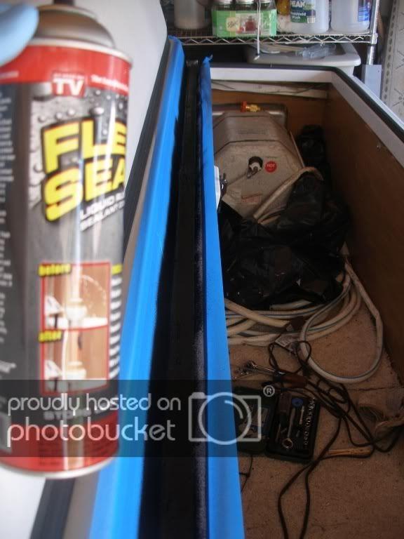 Coleman Bayside Leaky Storage Box Maybe A Fix Storage Camper Storage Storage Box
