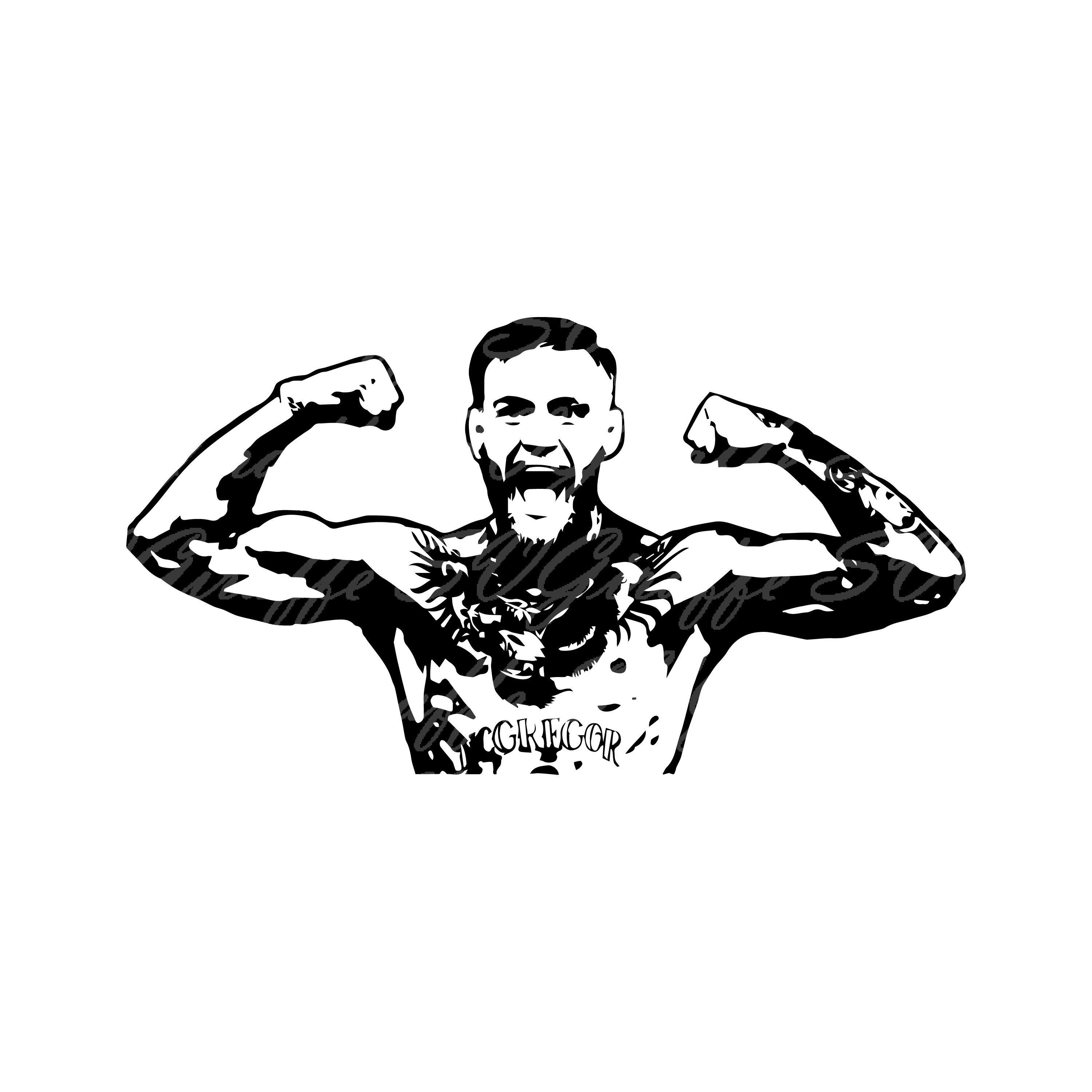 Conor Mcgregor Svg Jpg Png Dxf Pdf Files Ufc Svg Conor Etsy In 2020 Mcgregor Wallpapers Conor Mcgregor Conor Mcgregor Wallpaper