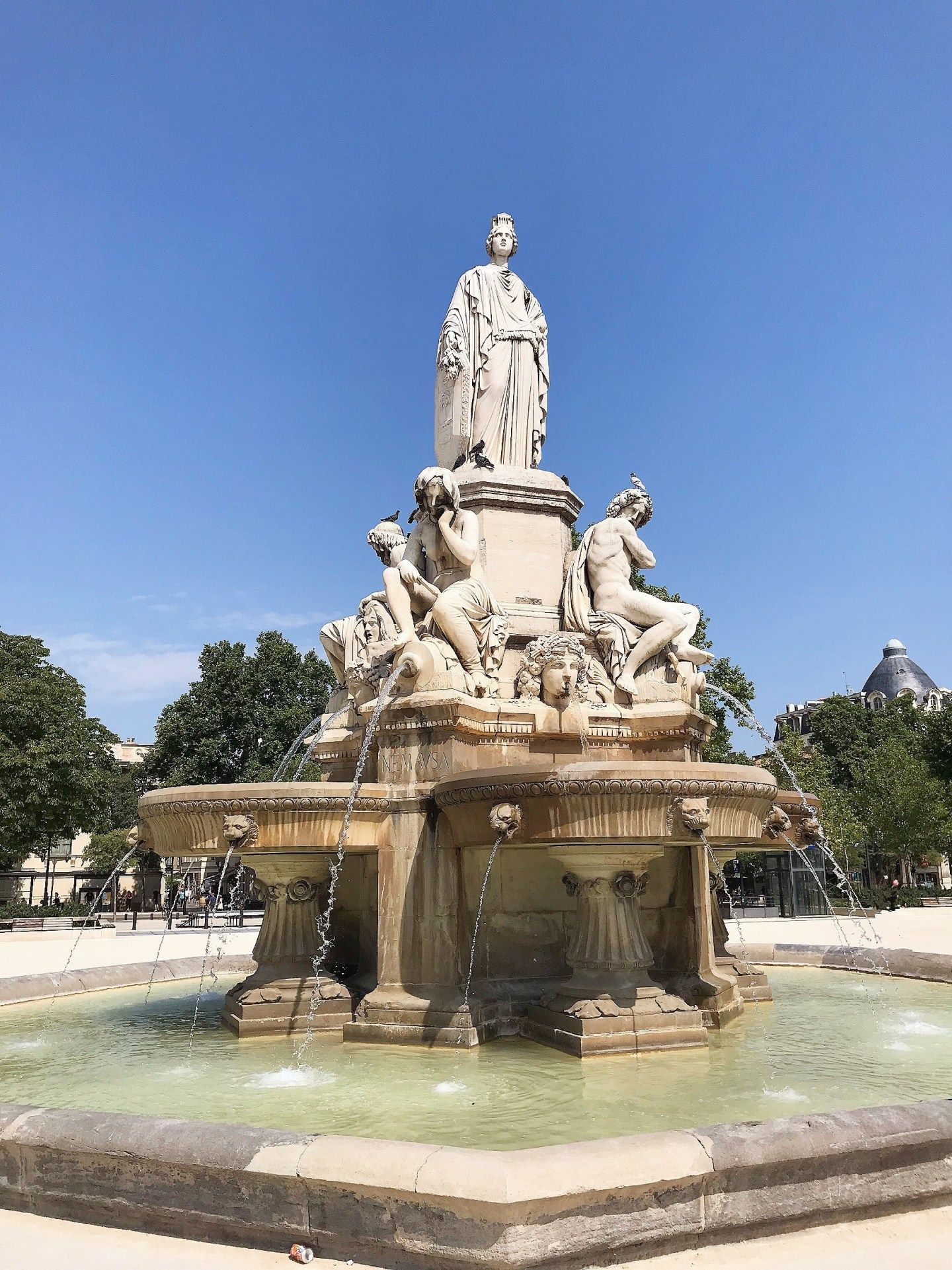 Nîmes, mon escapade romaine suddelafrance Nîmes gard
