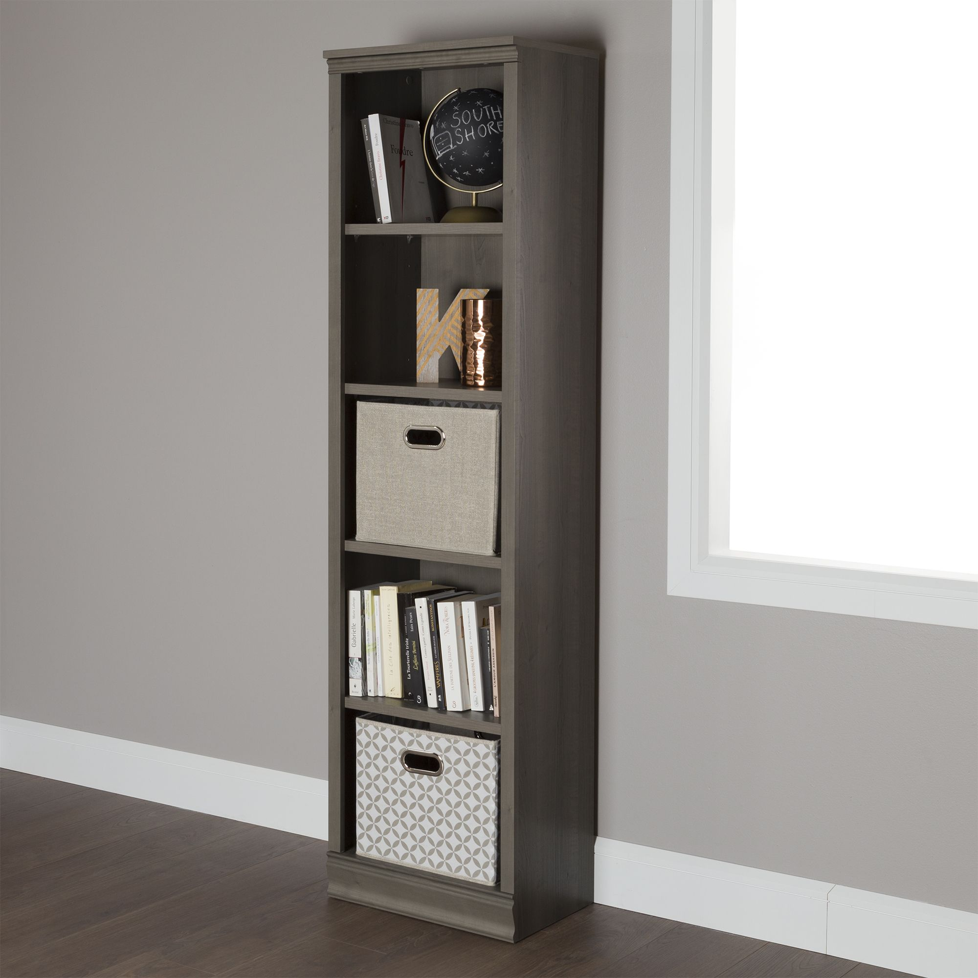 This Classic Style Shelving Unit Provides Some Handy Storage Solutions