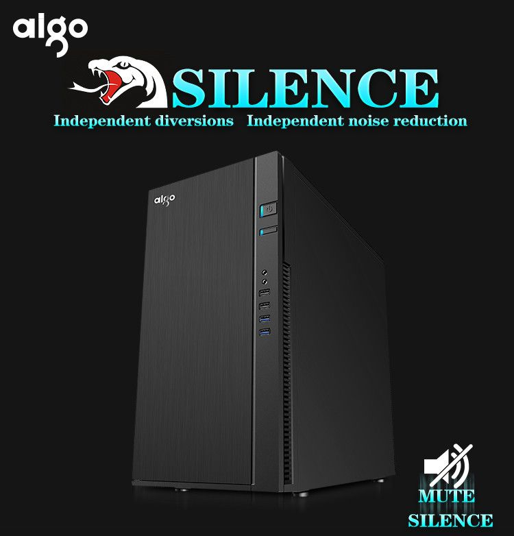 Aigo Silence Atx Diy Computer Case Excellent Qualaty Quiet