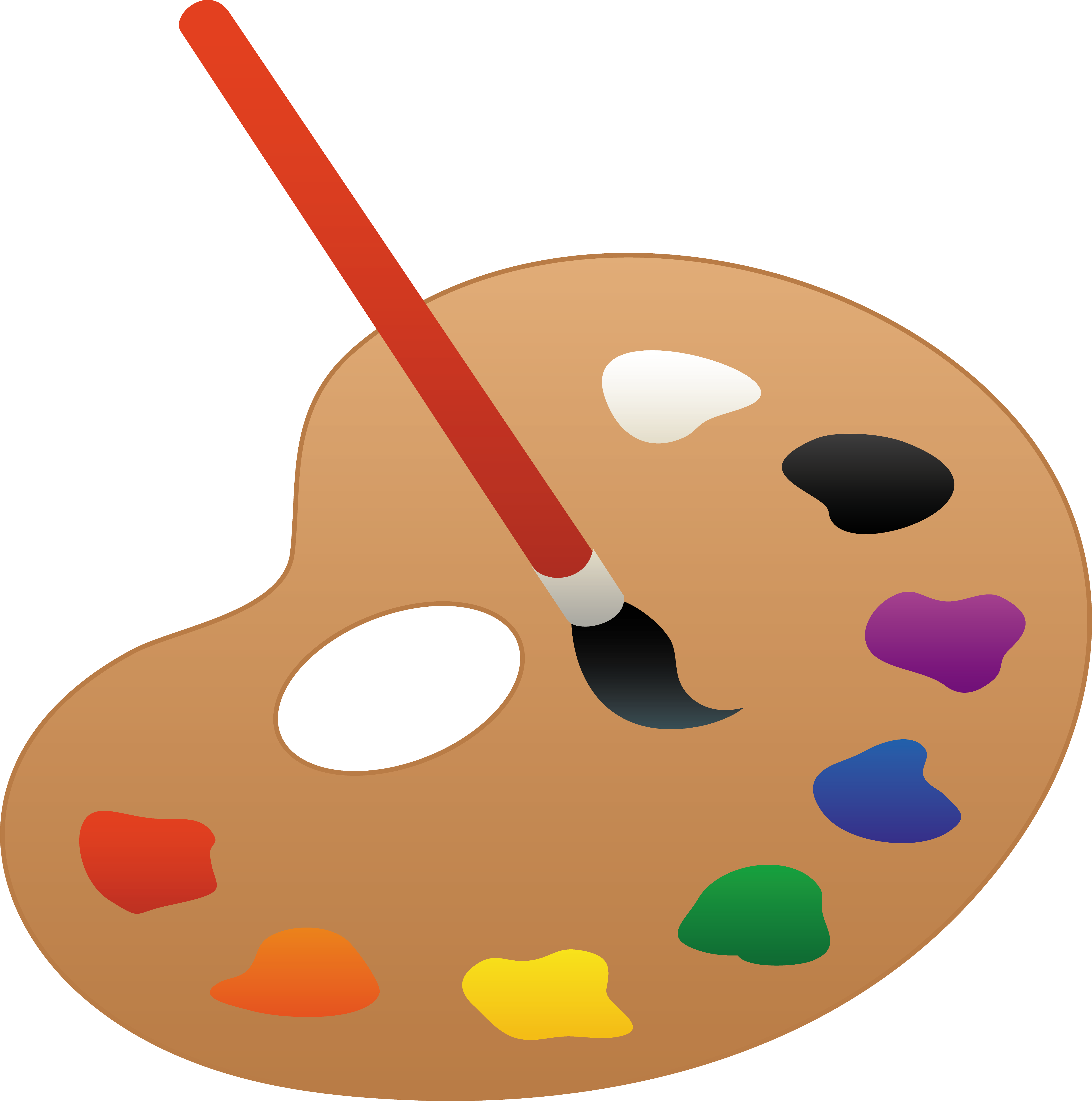 Watercolor Paints Singles Art Supplies Writing Brush Watercolor Paints Singles Supplies Writing Brush Painting Clipart Palette Clipar Palette Art Art Party Art