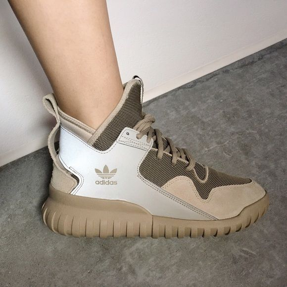 Adidas Tubular X Hemp Tan