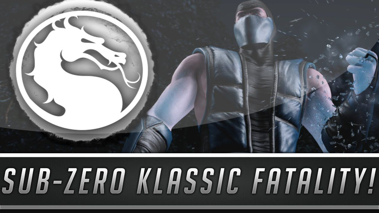 mortal kombat x sub zero fatalities ps4