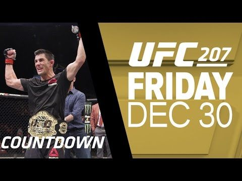 Mma Ufc 207 Countdown Dominick Cruz Vs Cody Garbrandt Dominick Cruz Cody Garbrandt Ufc