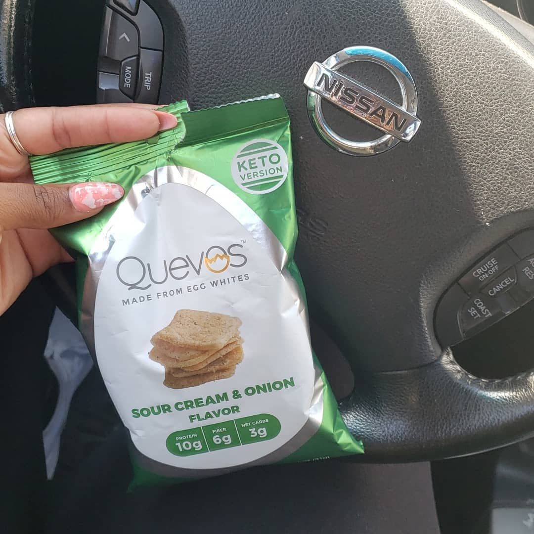 I tried the @eatquevos crackers...chips? Lol  I give it a 7.5/10  There thinner than I thought they...