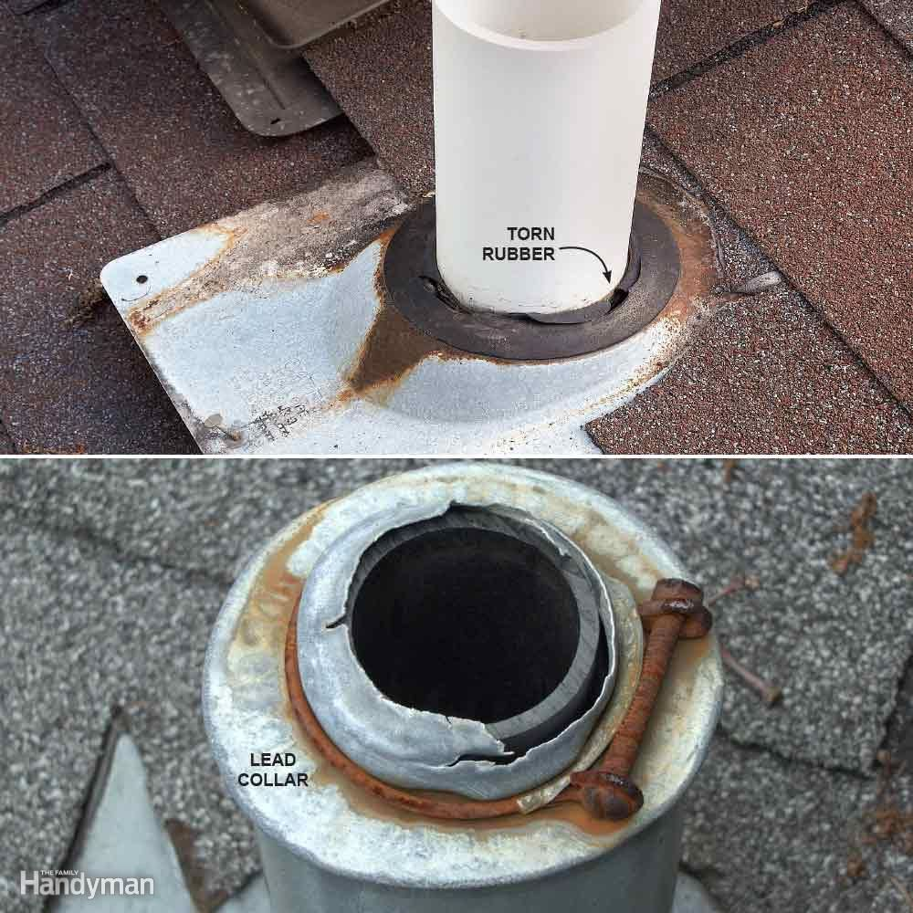 10 Roof Problems And What To Do About Them Roof Sheathing Plumbing Vent