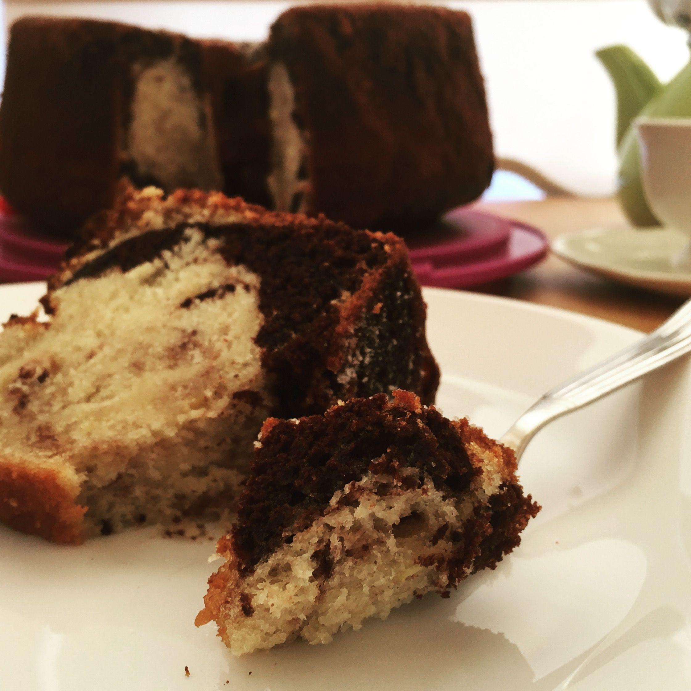 Mermer çikolata kek tarifi