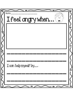 When Sophie Gets Angry Worksheets Photo Album - Worksheet for Kids ...