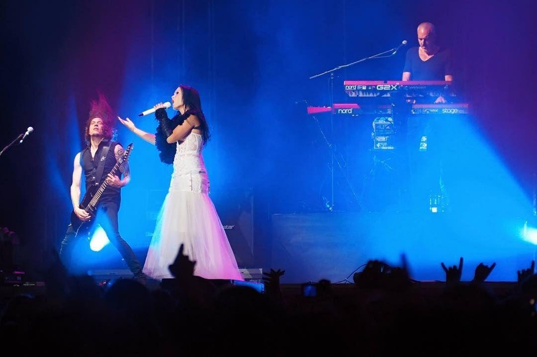 Tarja Turunen, Alex Scholpp and Christian Kretschmar live at Masters of Rock, Czech Republic, 17/062016 #tarja #tarjaturunen #mastersofrock PH: Mon Ika https://www.instagram.com/mondoika/