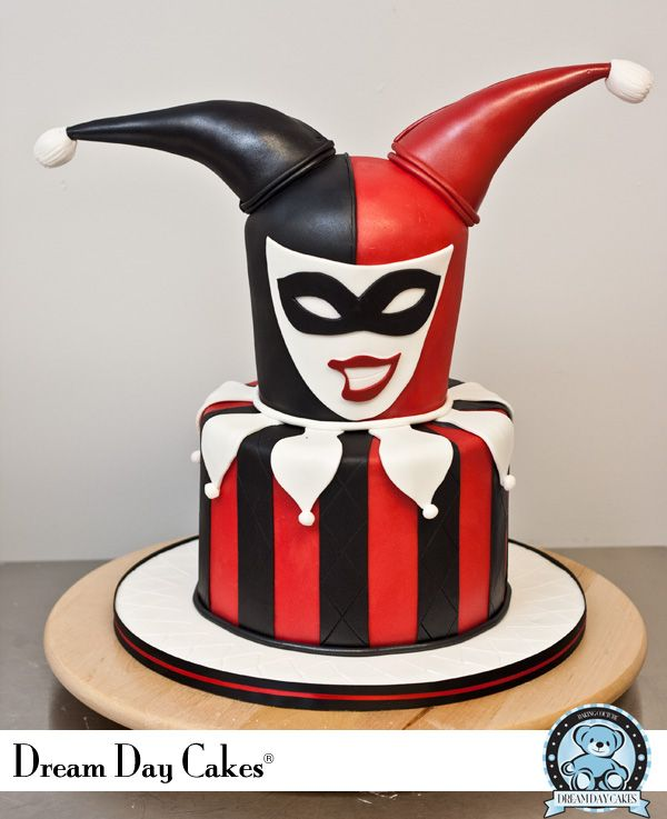 Superhero Week Harley Quinn Birthday Cake Pastel De Nios