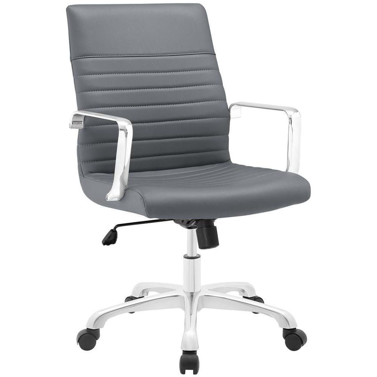 Modway Finesse Mid Back Office Chair Modern Office Chair Office Chair Black Office Chair