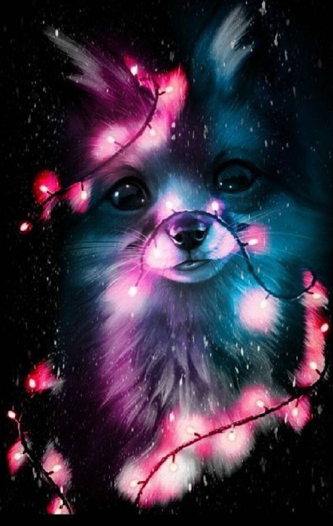 Pin By Ana Lopez On Animals Wallpapers Anime Animals Cute Animal Drawings Cute Cartoon Animals