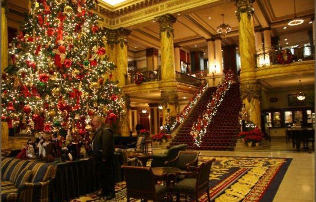 Jefferson Hotel Christmas Jefferson hotel