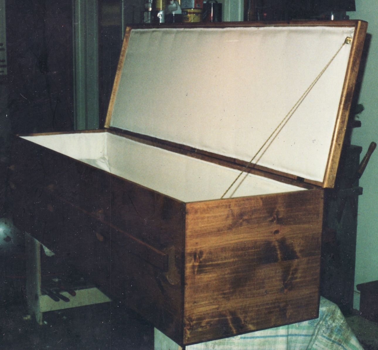 Pine Casket with Satin Lining | Products I Love | Casket