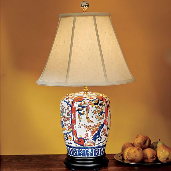 Master Bedroom Inspiration Imari Ginger Jar Lamp Jars Chinese