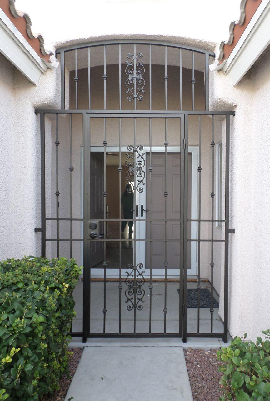 Spiral Stairs Wrought Iron Security Doors Iron Security Doors