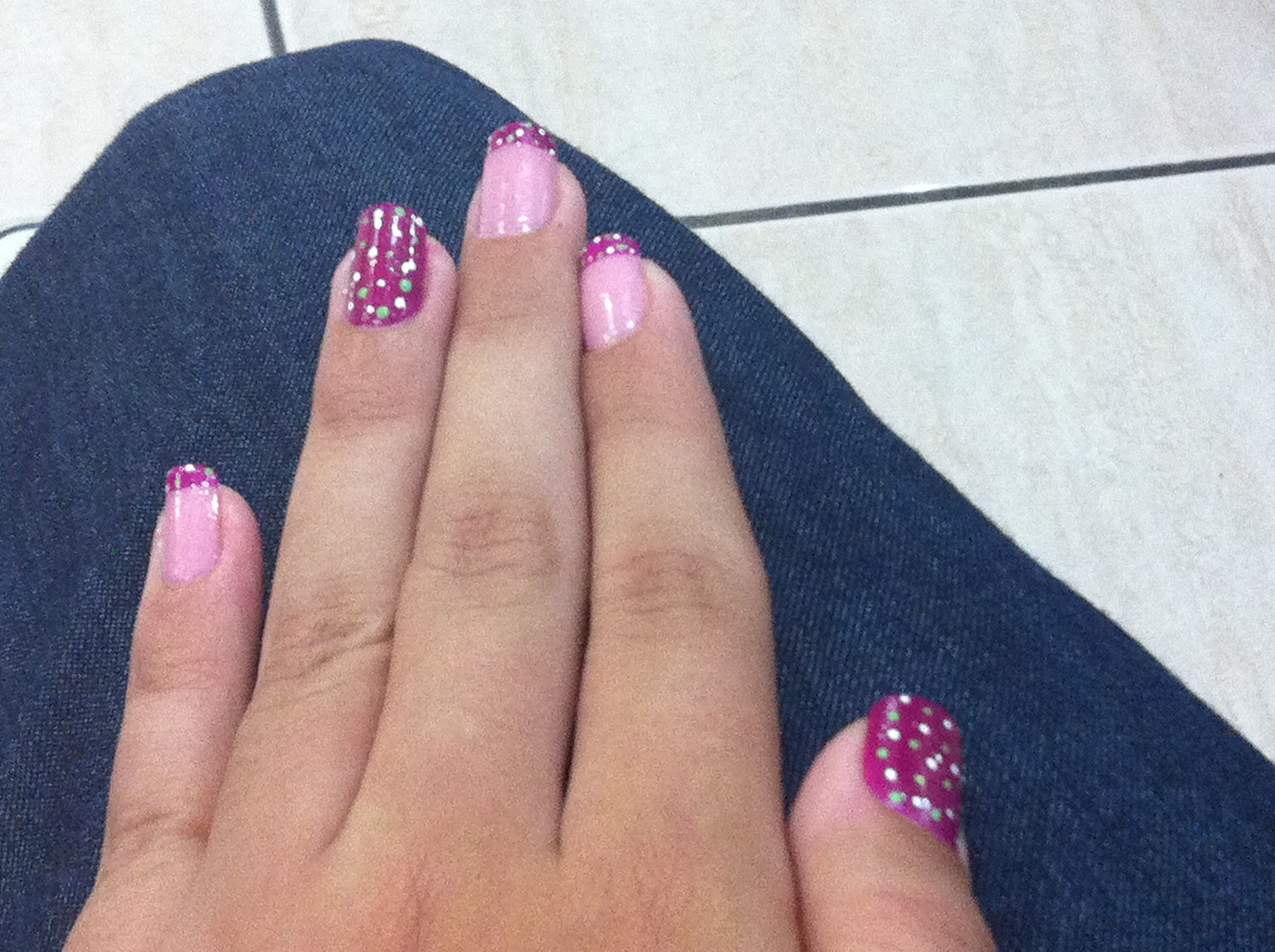 Fio's beautiful nails