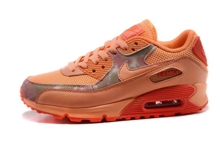 Nike Air Max 90 2007 GS Iron Green Hyper Pink White 345017 300 Women's Running Shoes Girl Trainers