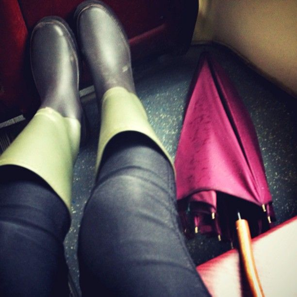 MUJI rain boots