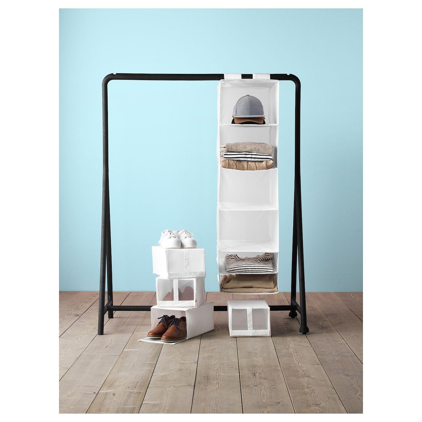 IKEA SKUBB Aufbewahrung in wei/ß; 6 F/ächer