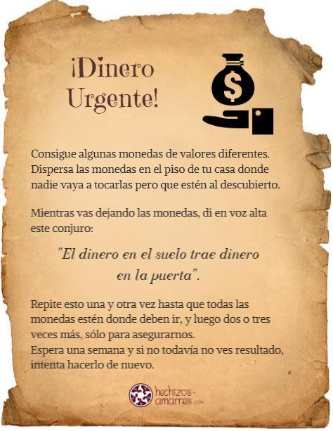 Ritual dinero urgente l d b r 2017 hechizo para - Como atraer dinero y buena suerte ...