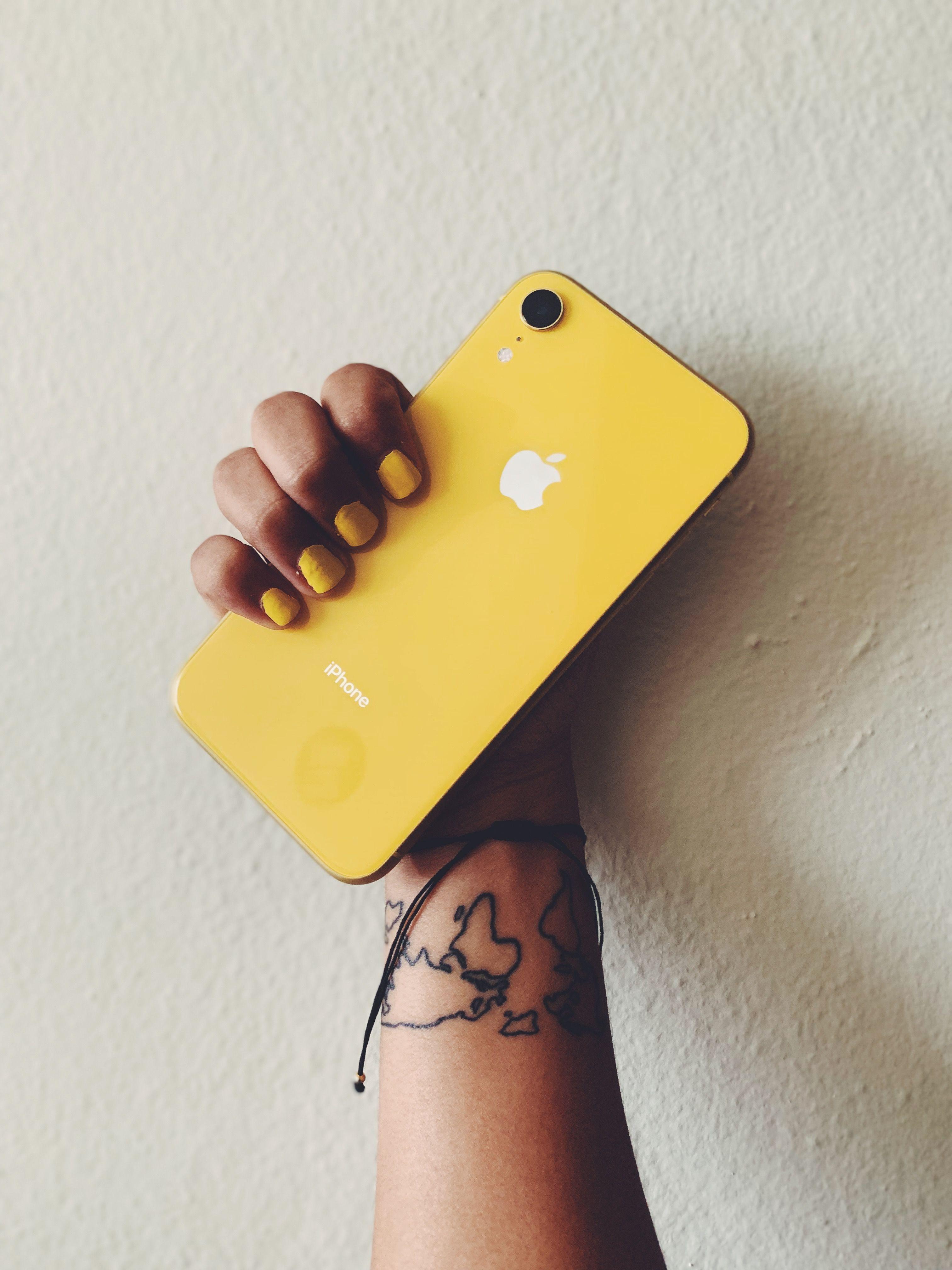 a694ac23e2 iphone #XR #yellow #amarillo #tattoos #tattoosforwomen #minitattoos ...