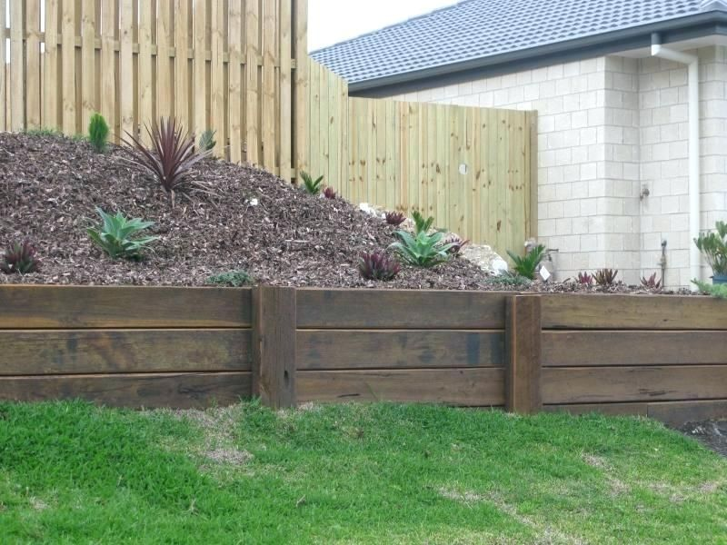 Inexpensive Retaining Wall Ideas Wood Cost