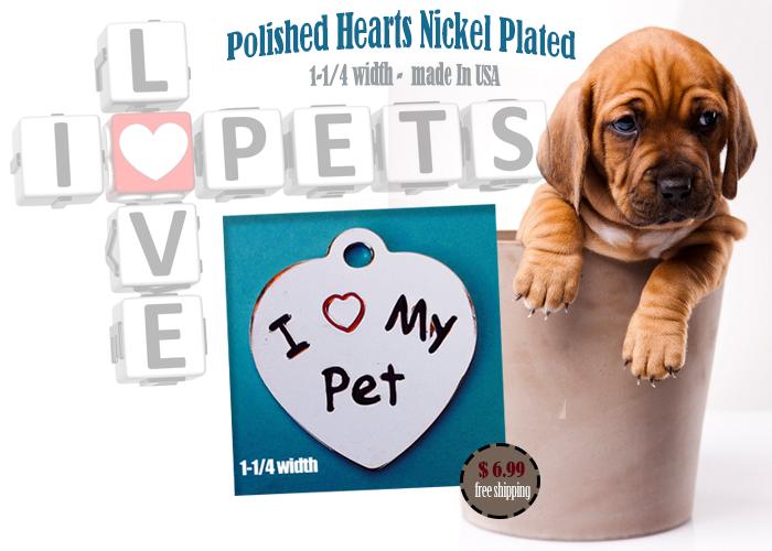 custom pet tags designer dog id tags 1 98 or less free shipping