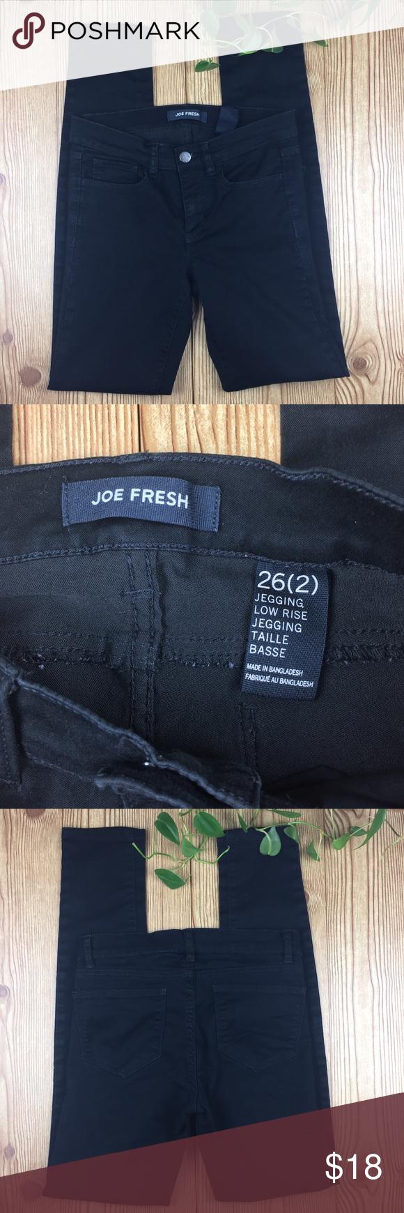 1cb8522d16c6a Joe Fresh Black Jeggings | Size 2 Excellent condition, stretchy Joe Fresh  Jeggings Size 26 (2) Joe Fresh Pants Leggings