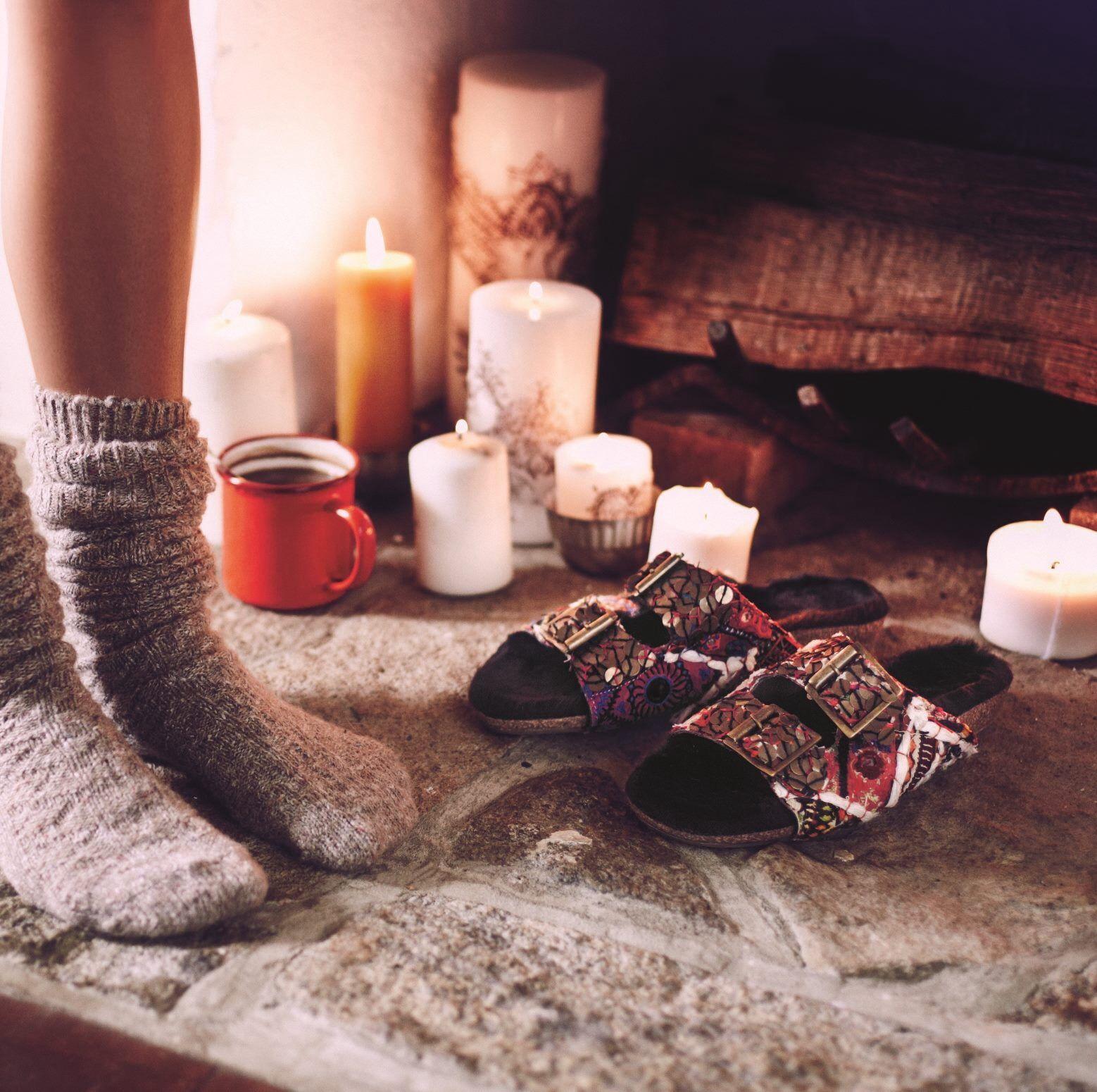 Cozy Winter Socks #Zappos #Keepingwarm #Socksandslippers