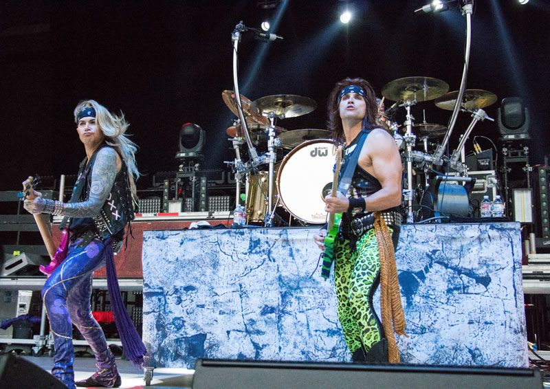 Steel Panther at High Elevation Rock Festival 2017 Photo credit: Jessica  Link