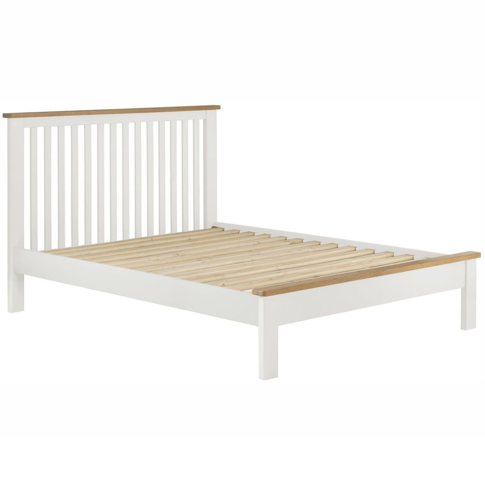 Details About Padstow White Painted 5ft Double Bed Frame Solid