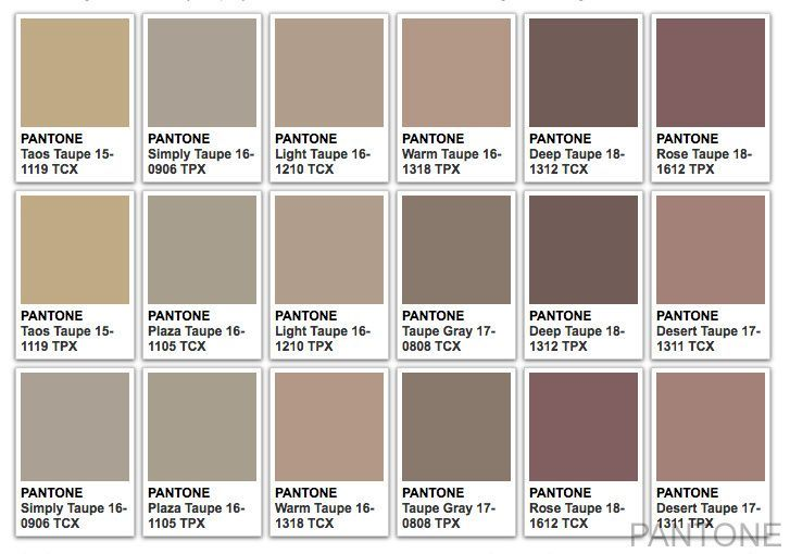 Wonderlijk taupe - Google zoeken (With images)   Taupe colour, Taupe color UG-26