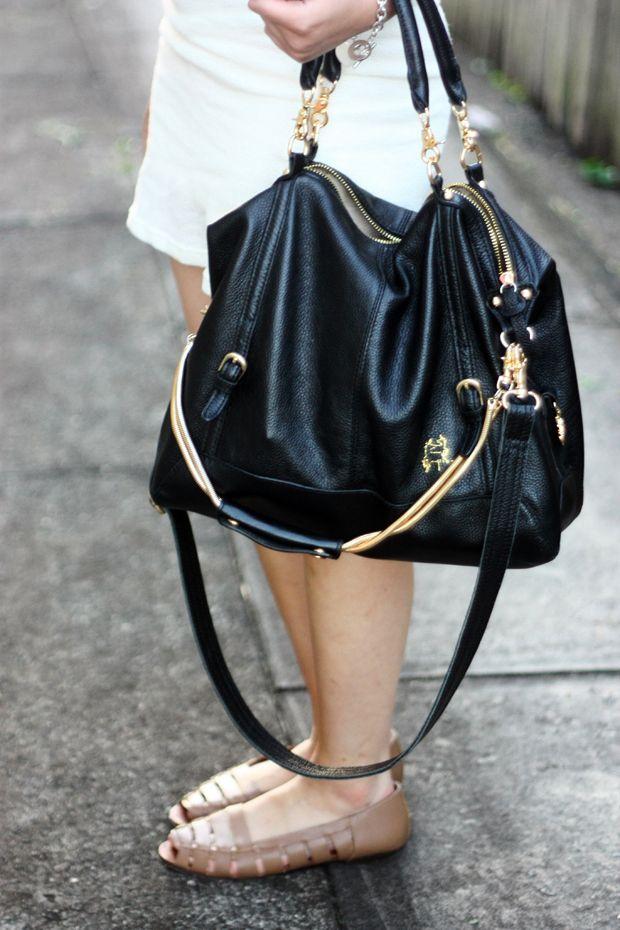 Tilkah Veruca Salt Bag In Black