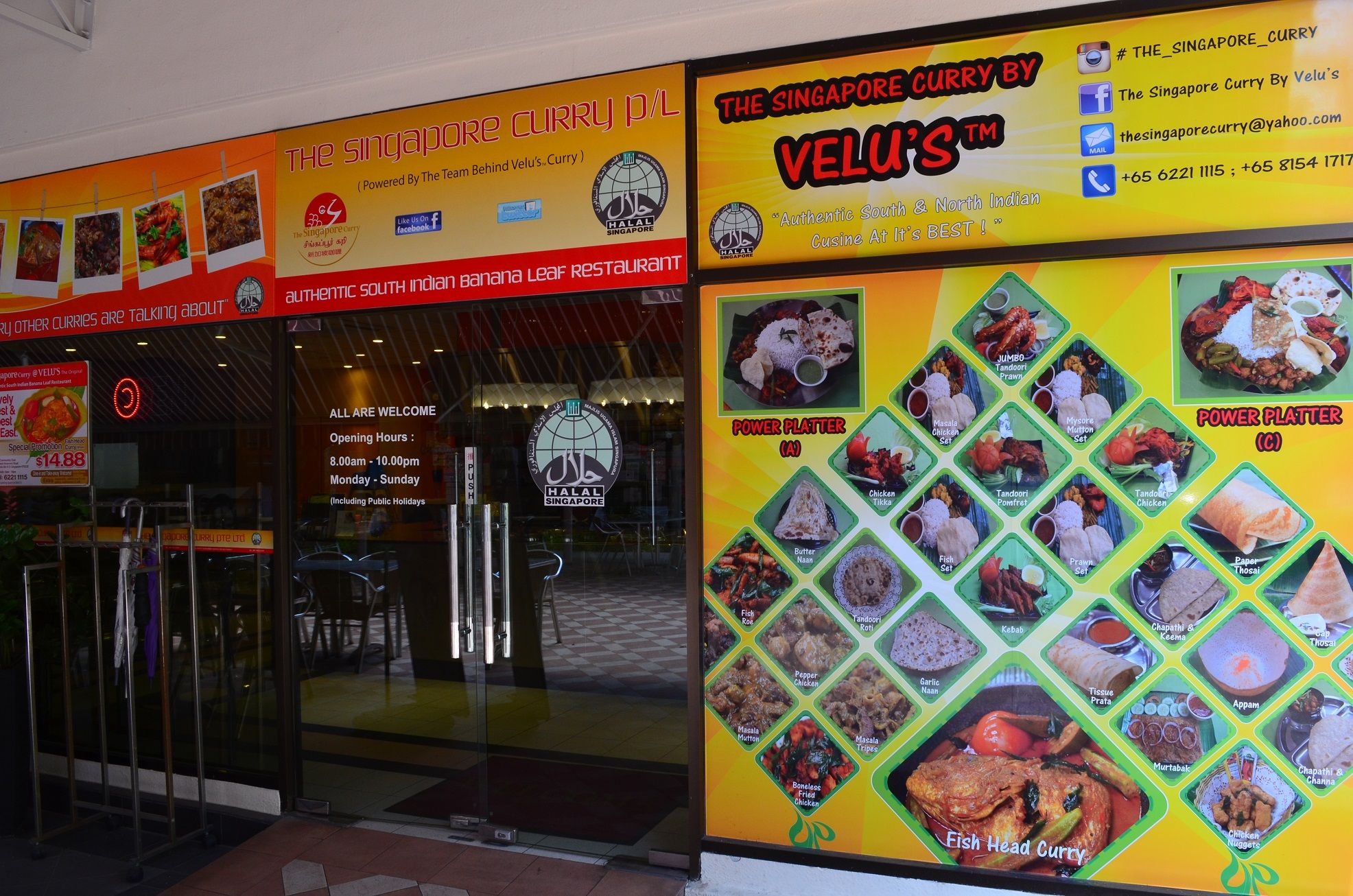 Also Known As Velu S Curry Or The Singapore Curry By Velu S This Halal Certified Indian Restaurant Is Located In Eunos Family Restaurants Singapore Epoch Time
