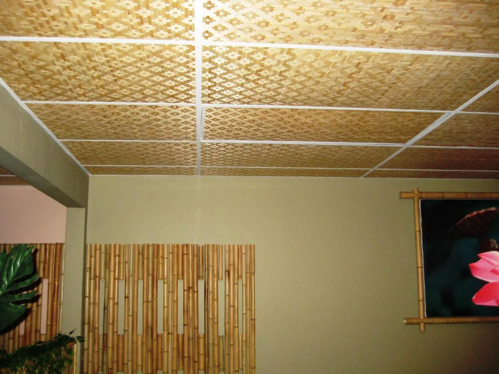 bamboo ceiling panels — all home decoration : unique aesthetic