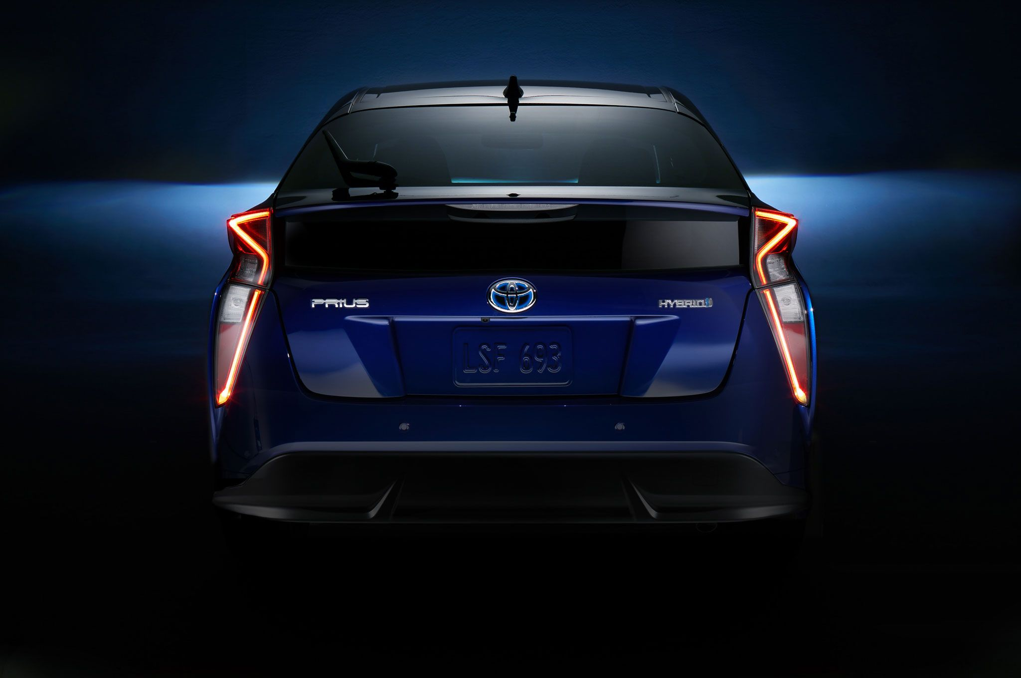 2016 Toyota Prius Rear View Taillights On Jpg 2048 1360 Toyota