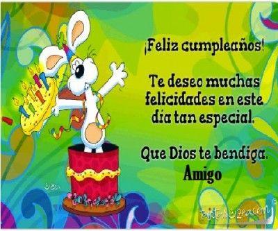 Tarjeta De Feliz Cumpleaños Para Un Amigo Querido Dedicatorias De Feliz Cumpleaños Feliz Cumpleaños Amiga Tarjeta De Cumpleaños Gratis