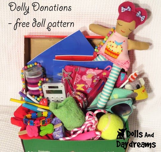 Free Charity Easy Rag Doll Sewing Pattern  Small 10  8 inch dollies  Dolls An  Sewing